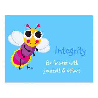 Integrity Cute Firefly Postcard