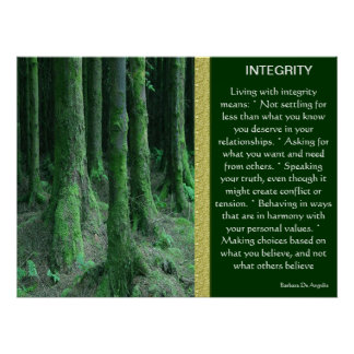 INTEGRITY  Posters 9