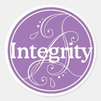 Integrity Sticker