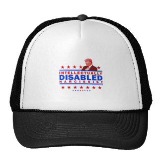 Intellectually Disabled Narcissist Trucker Hat