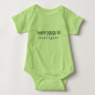INTELLIGENT - Igbo Baby Bodysuit
