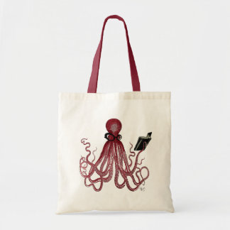 Intelligent Octopus Tote Bag