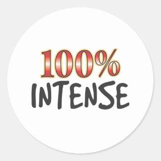 Intense 100 Percent Sticker