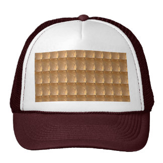 INTENSE Gold Biscuit Collage Pattern Graphic GIFTS Trucker Hat