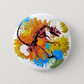 Intense Pink Raptor Button