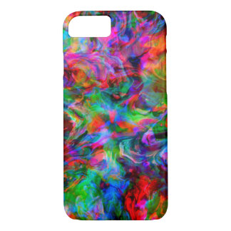 Intense Psychedelic Bright Color Swirl