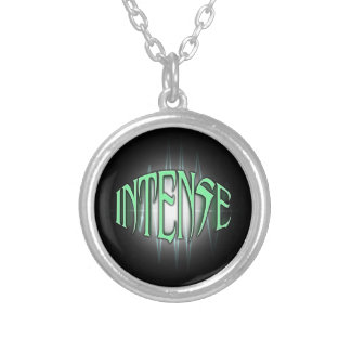 INTENSE SILVER PLATED NECKLACE