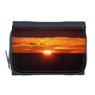 Intense sunset wallet