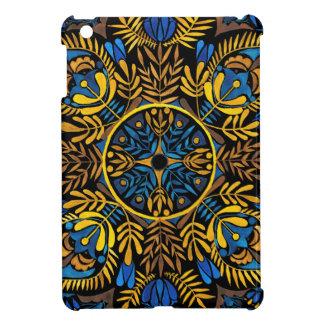 Intensity - contrast mandala pattern iPad mini covers