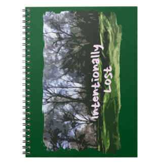 Intentionally Lost Notebook