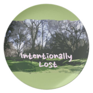 Intentionally Lost Plate
