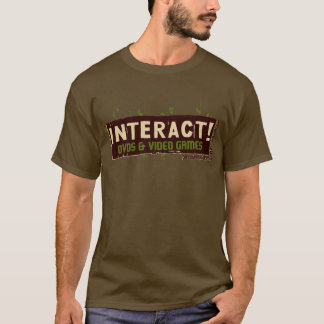 Interact! Beige Over Green T-Shirt