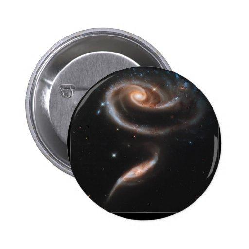 Interacting Galaxies ARP-273 Pin