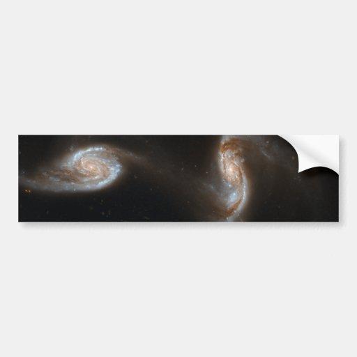 Interacting Galaxies Bumper Sticker