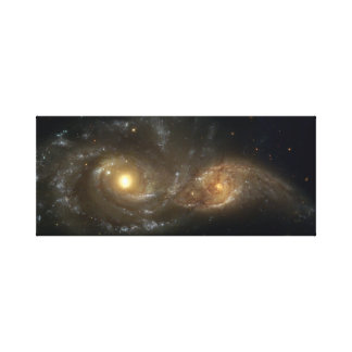 Interacting Spiral Galaxy canvas Stretched Canvas Prints