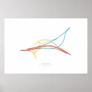 Interchange Choreography: Budapest, Hungary Poster