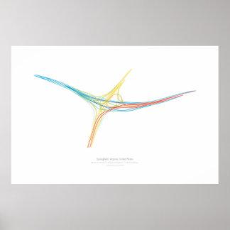 Interchange Choreography: Springfield, VA, US Poster