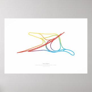 Interchange Choreography: Varna, Bulgaria Poster