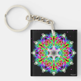 Interconnection/deep peace keychain