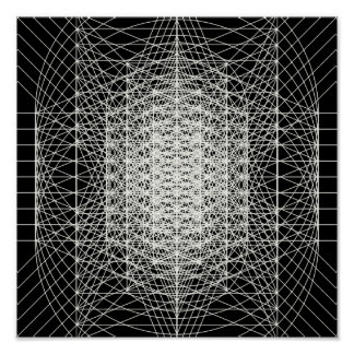 Interdimensional Sacred Geometry The Wormhole Poster