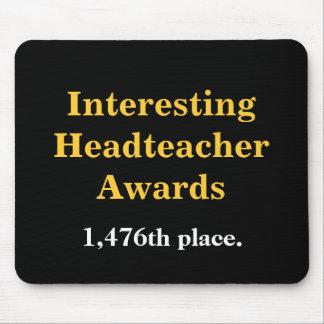 Interesting Headteacher Award Cruel Practical Joke Mouse Pad