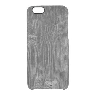 Interesting Wood Texture Clear iPhone 6/6S Case