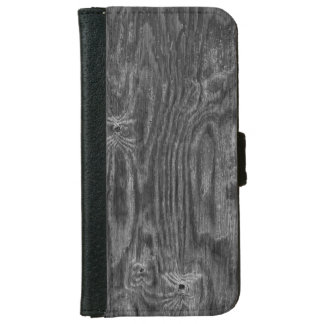 Interesting Wood Texture iPhone 6 Wallet Case