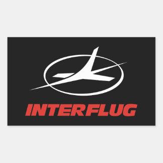 Interflug airlines sticker