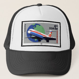 INTERFLUG - National Airline of DDR, East Germany Trucker Hat