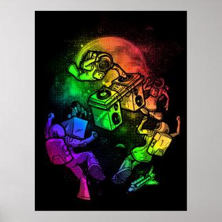 Intergalactic Disco Poster