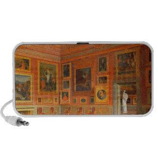 Intérieur dans le palais de Medici Haut-parleur Ordinateur Portable