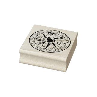 Interimaginational Institute Seal Rubber Stamp
