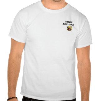 InterInternet est des affaires sérieuses Tee Shirts