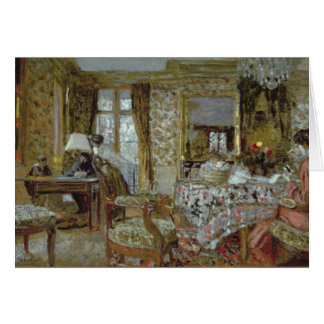 Interior, 1904 card
