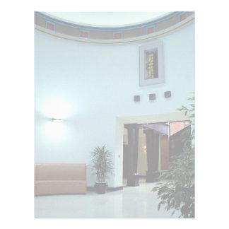 Interior architectural view custom letterhead
