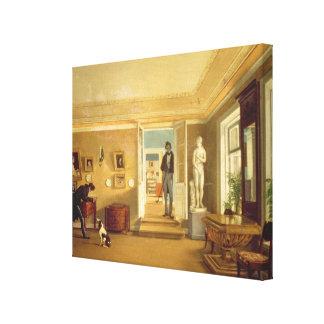 Interior Gallery Wrap Canvas