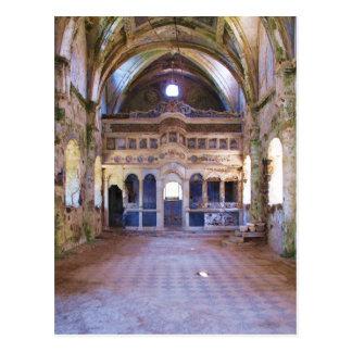 Interior, Church, Panayia Pyrgiotissa, Kayakoyu Postcard