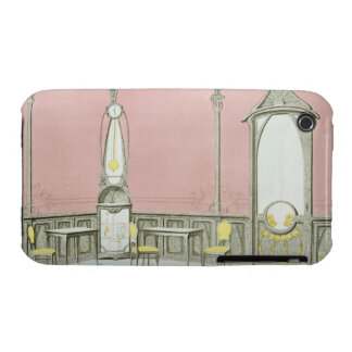 Interior design for a brasserie, illustration from iPhone 3 Case-Mate case