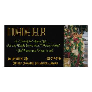 Interior Design holiday card Photo Card