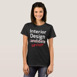 Interior Design Survivor College Degree T-Shirt