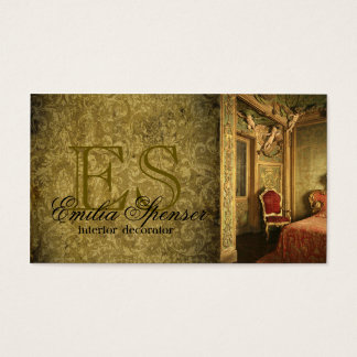 Interior Designer Decorator Classic Style Card