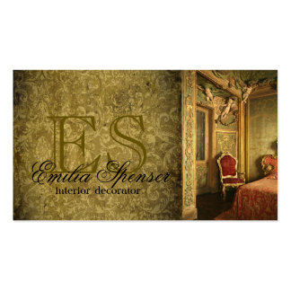 Interior Designer Decorator Classic Style Card Business Card