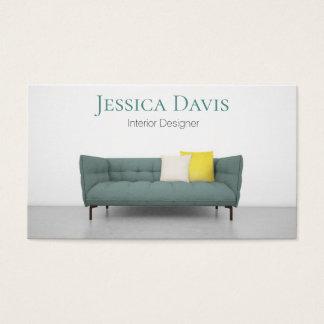Interior Designer Furniture Business Card