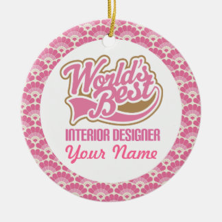 Interior Designer Personalized Gift Ornament