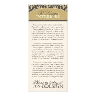 Interior Designer Rack Card