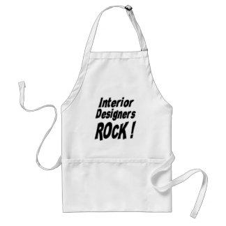 Interior Designers Rock! Apron