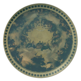 Interior Dome of the Capitol Building Plate