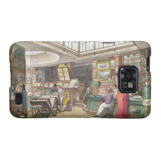 Interior from Ackermann's 'Repository of Arts, Lit Samsung Galaxy S2 Case