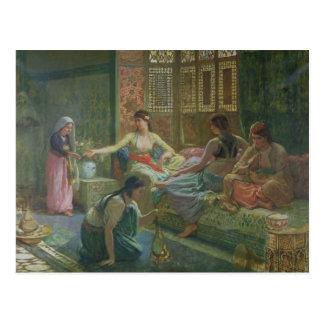 Interior of a Harem, c.1865 Postcard