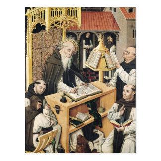 Interior of a Scriptorium, School of Segovia Postcard